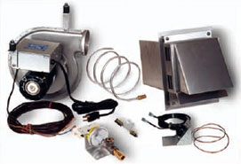 gas side wall power venters damp crawl space moisture chimney linear limit spillage switch and vent hood factory pre wired electrical box and control cables eliminate the need for an electrician