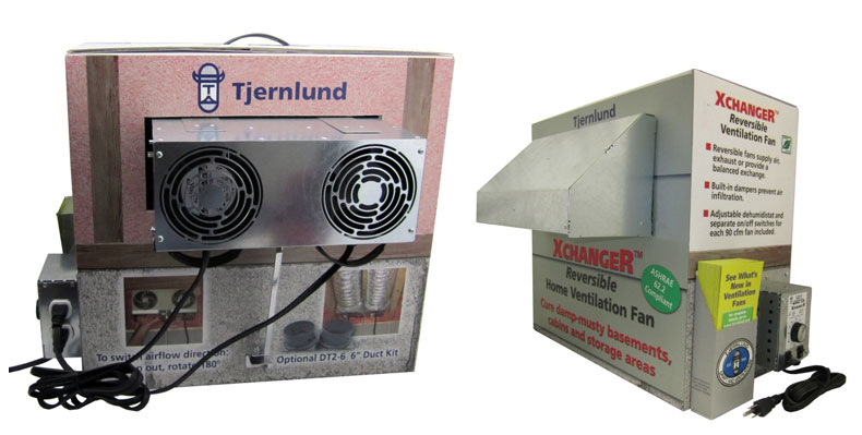 space ventilation dryer boosting fan tjernlund products inc
