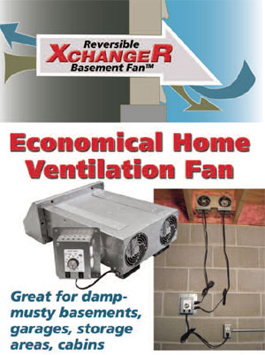 Fresh Basement Exhaust Fans