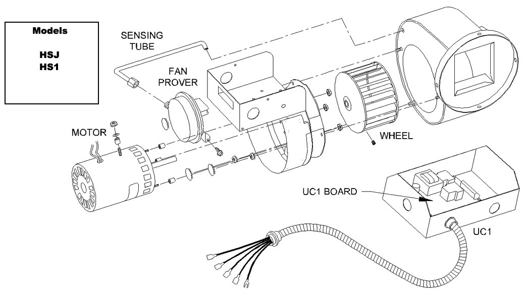 tjernlund products, inc Single Line Wiring Diagram